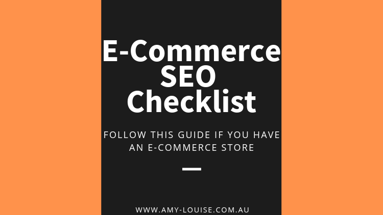 Learn How To SEO Your E-Commerce Store